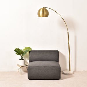 Grey Modern Lounge Chair