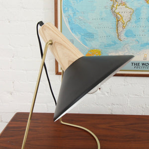 Black and Gold Task Lamp