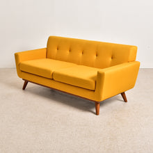 Load image into Gallery viewer, West Gold Mustard Sofa