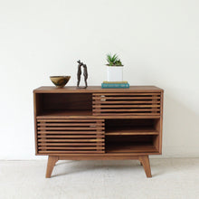 Load image into Gallery viewer, Lawford Slat Credenza 2 Tier
