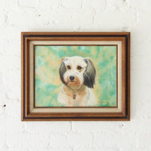 Load image into Gallery viewer, Oil Painting of a Dog Framed