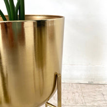 Load image into Gallery viewer, Brass Planter Set