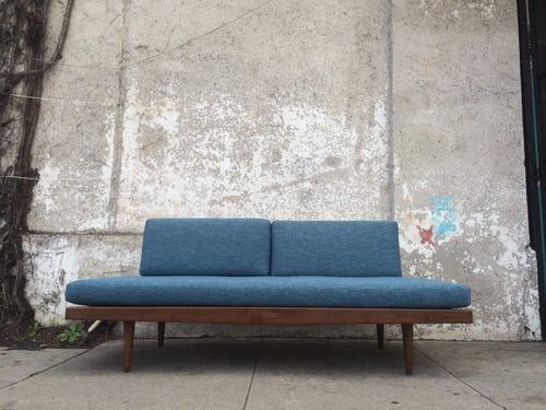 Modernist Day Bed in Blue