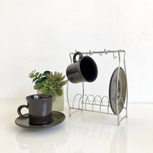 Load image into Gallery viewer, Coffee Cup and Saucer Rack