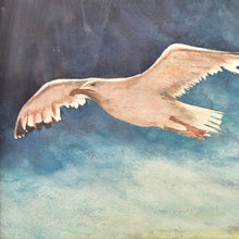 Load image into Gallery viewer, Seagull Watercolor art