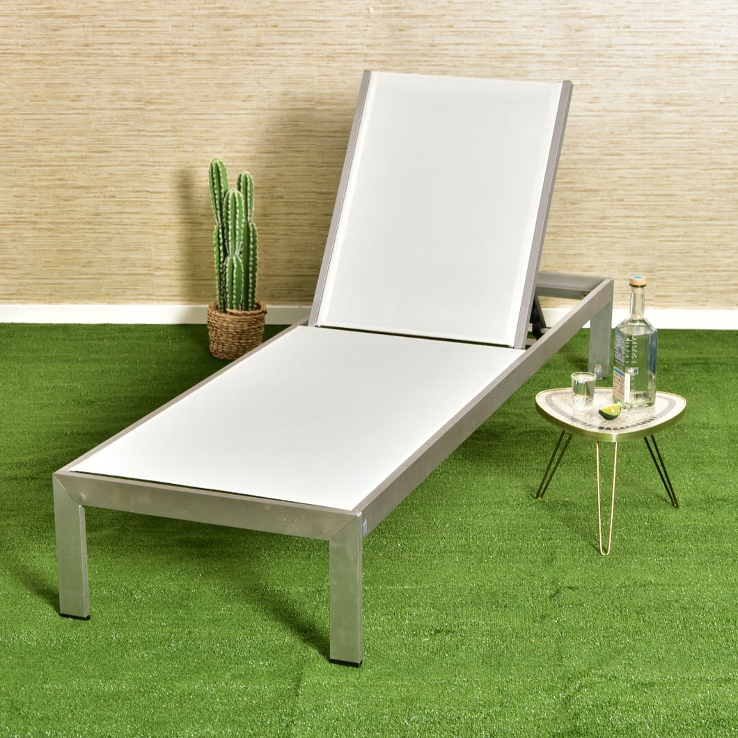 Palm Springs Outdoor Aluminum Lounge