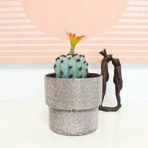 Grey Modernist Planter