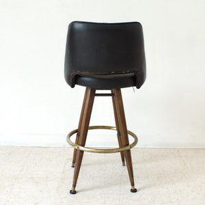 Black as found Bar Stool