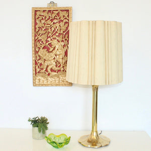 Brass Laurel Lamp