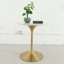 Load image into Gallery viewer, Daisy Cafe Table in Faux Marble