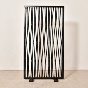 Black Rope Room Divider