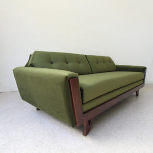 Desmond Walnut Framed Sofa