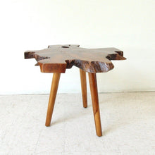 Load image into Gallery viewer, Solid Slab Spalted Wood Side Table
