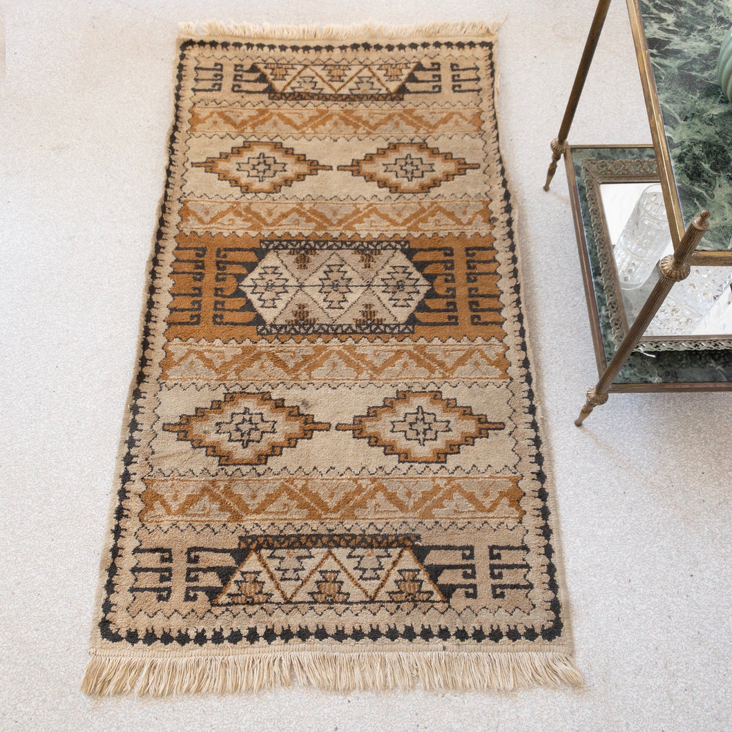 Native American Rug in Earth-tones