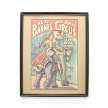 Load image into Gallery viewer, Barnes and Circus Print