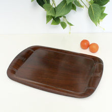 Load image into Gallery viewer, Black Walnut 1920's Art Deco Tray