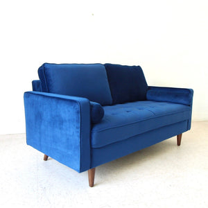 Mimi Loveseat in Deep Blue