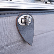 Load image into Gallery viewer, Grey  Suit Case by Monarch
