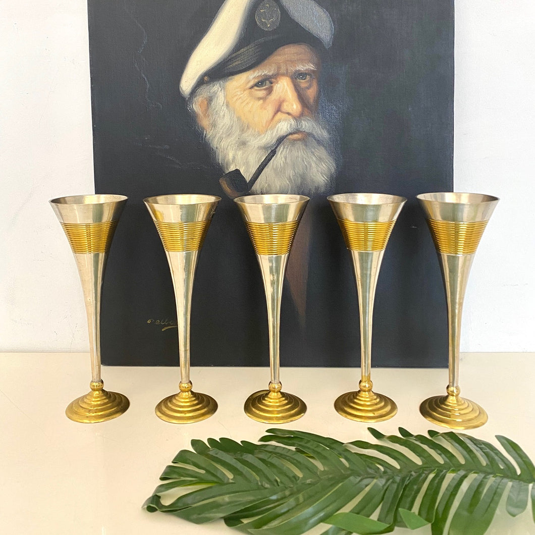 Modernists Flutes (Silver and Gold plated)