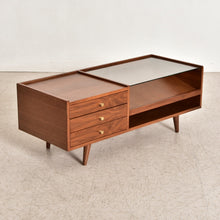 "Load image into Gallery viewer, ""Ella"" Walnut Coffee Table"