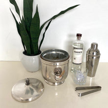 Load image into Gallery viewer, Silver Plated Ice Bucket