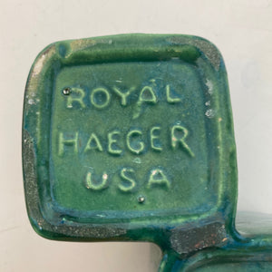 Mid Century Haeger Pottery Candle Holder