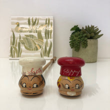 Load image into Gallery viewer, Salty & Peppy Salt and Pepper Shakers