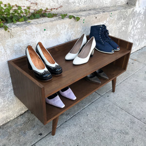 Handmade Storage Shelf & Shoe Rack