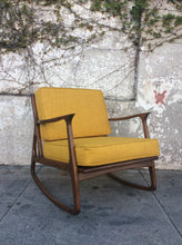 Load image into Gallery viewer, Elliot Rocking Chair in Mustard