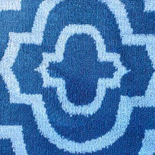 Load image into Gallery viewer, Moroccan Blue and White Modern Rug
