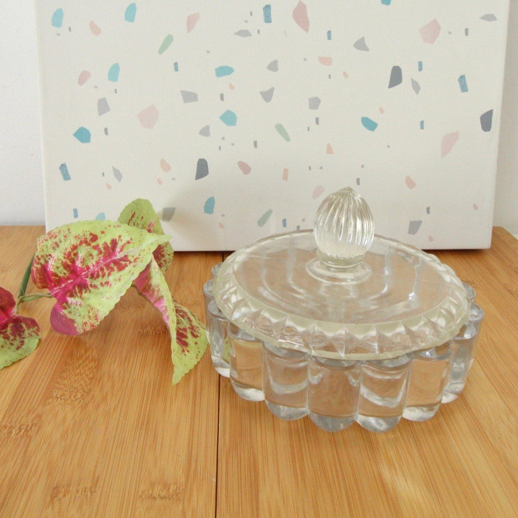 Vintage Crystal Jewelry Catchall