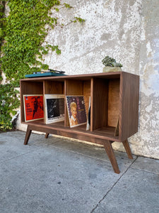Dexter Record Credenza with Repurposed Wood