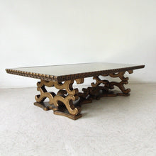 Load image into Gallery viewer, Hollywood Regency Large Coffee Table