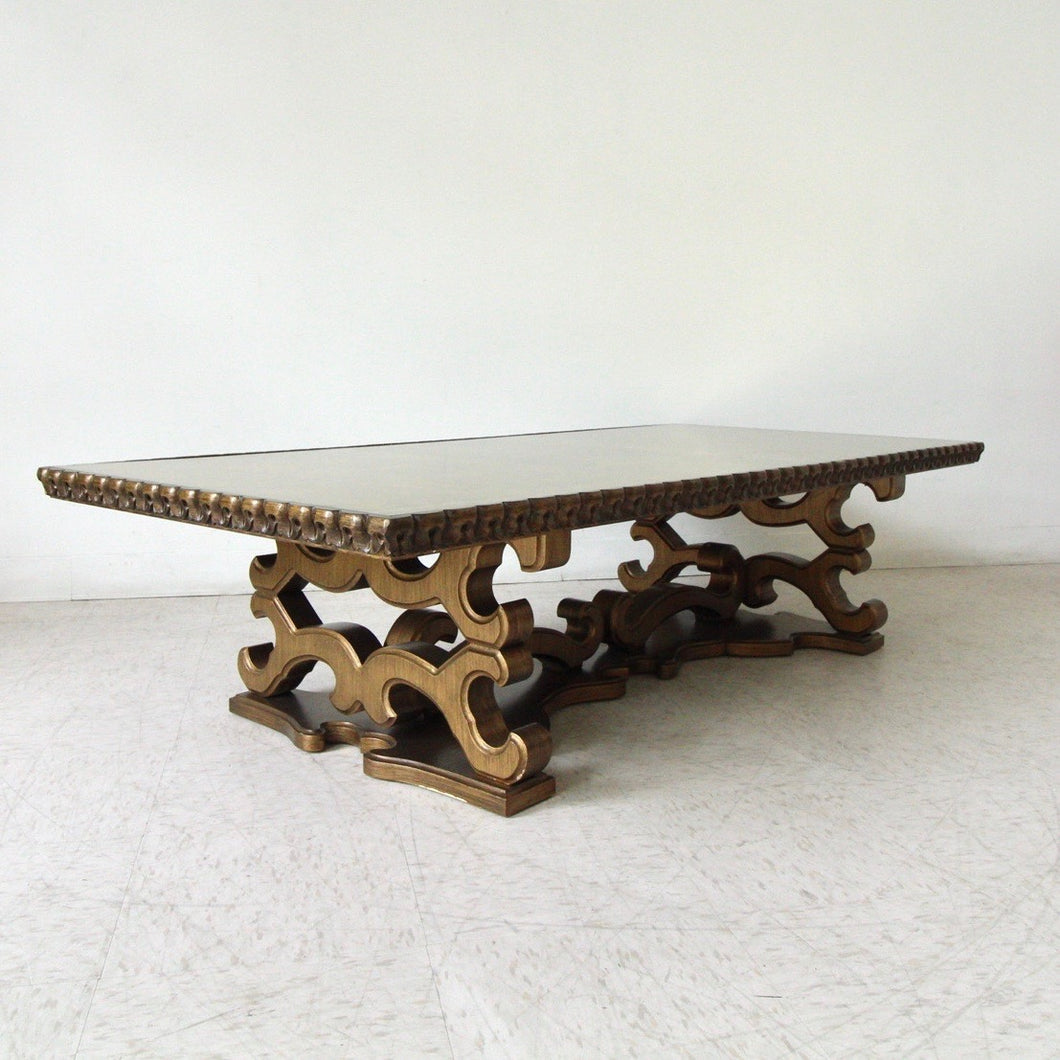 Hollywood Regency Large Coffee Table