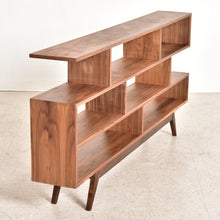Load image into Gallery viewer, Maddy Sleek Walnut Shelf