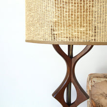Load image into Gallery viewer, Walnut Scandinavian Lamp