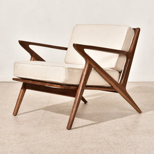 Ziggy Lounge Chair in Cream
