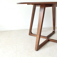 Load image into Gallery viewer, Melbourne Walnut Round Dining Table