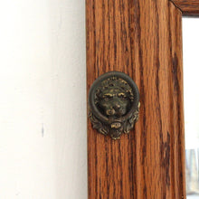 Load image into Gallery viewer, Antique Oak Mirror