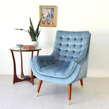 "Load image into Gallery viewer, ""Soto"" Chair in Dusty Blue"