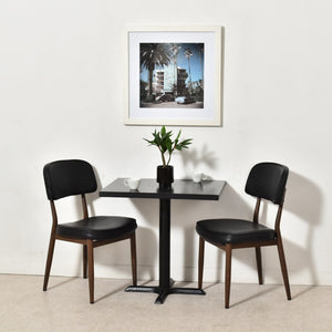 Black Ebonized 30 Dinette Table