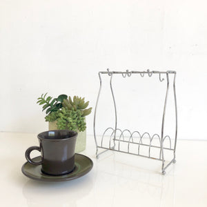 Coffee Cup and Saucer Rack