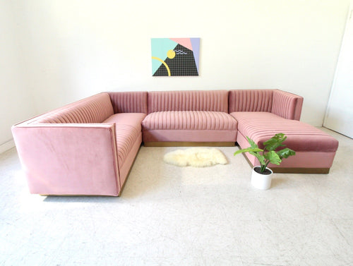 """Daisy"" 3 Piece Modular Sofa w/ In-Home Delivery"