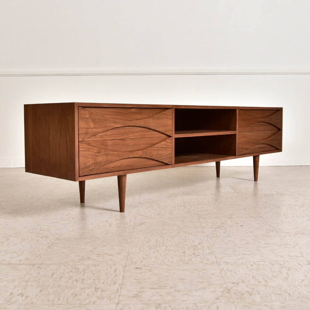 Tabatha Low Profile Sculpted Credenza