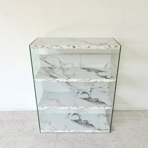 Sleek Faux Marble Shelf