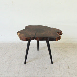 Live Edge Solid Wood Side Table