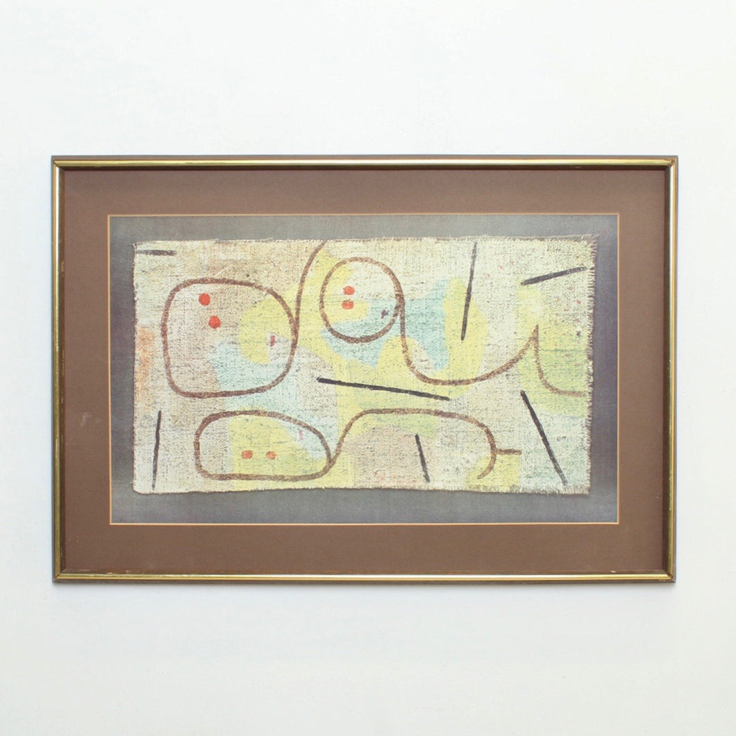 MCM Abstract Framed