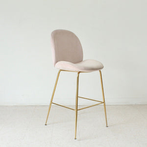 Pearl Pink Counter Height Stool