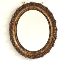 Load image into Gallery viewer, Vintage Ornate Gold Mirror