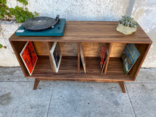 Load image into Gallery viewer, Dexter Record Credenza with Repurposed Wood